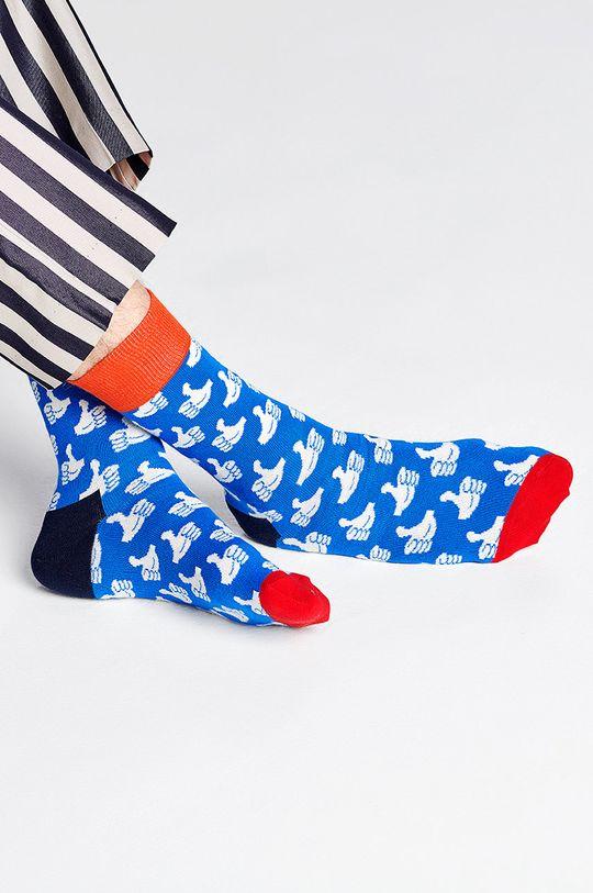 Happy Socks - Ponožky Thumbs Up modrá