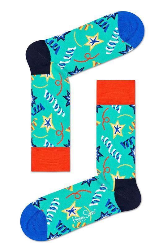 Happy Socks - Ponožky Birthday Gift Box (2 pack) 86% Bavlna, 2% Elastan, 12% Polyamid