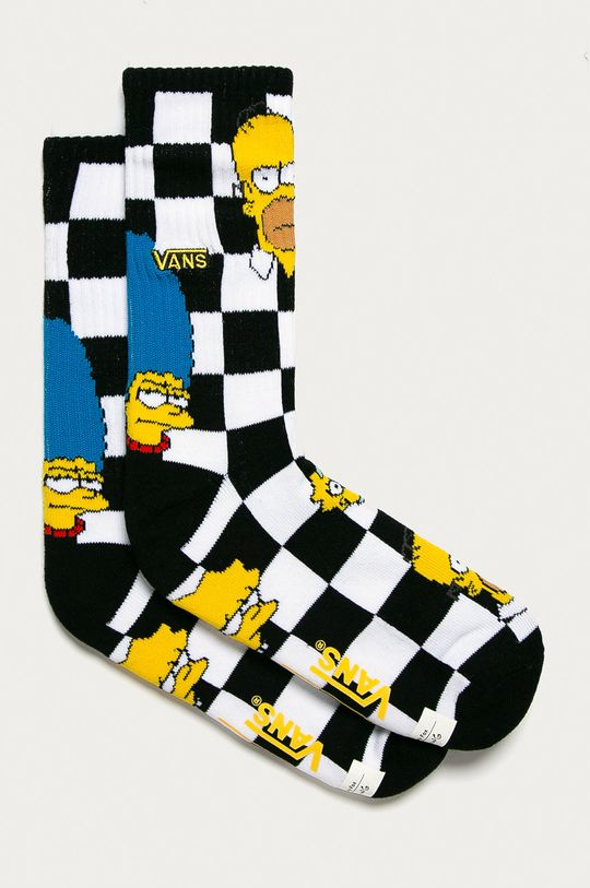 čierna Vans - Ponožky x The Simpsons Pánsky