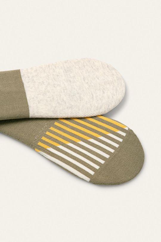 Levi's - Kotníkové ponožky (2-pack) olivová