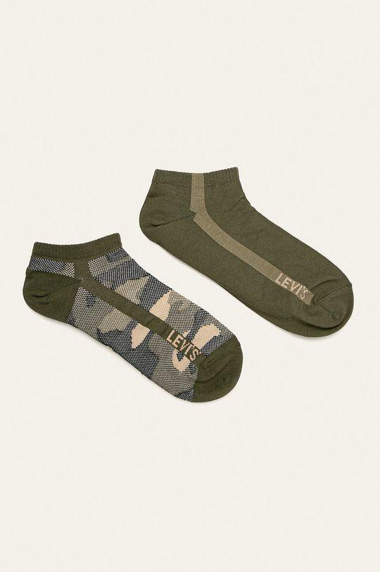 olivová Levi's - Ponožky (2-pack) Pánský