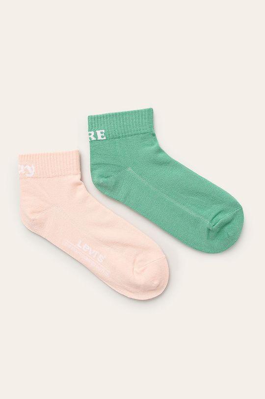 verde Levi's - Sosete (2 pack) Unisex