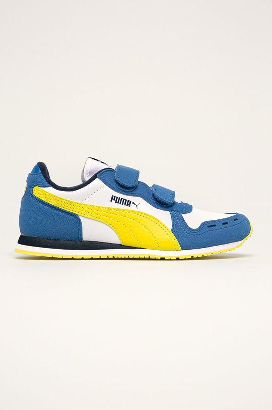 viacfarebná Puma - Detské topánky Cabana Racer SL V PS Chlapčenský