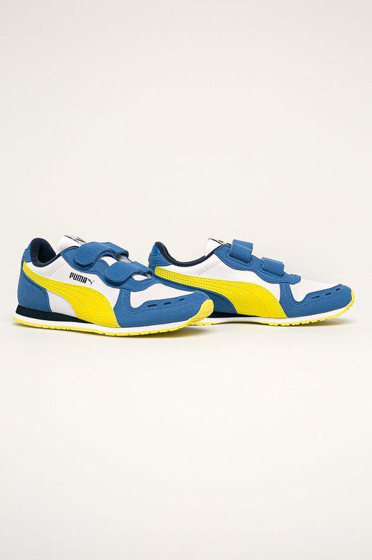 Puma - Detské topánky Cabana Racer SL V PS viacfarebná