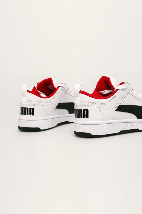 Puma - Dětské boty Rebound Layup Lo SL J  Svršek: Umělá hmota Vnitřek: Textilní materiál Podrážka: Umělá hmota