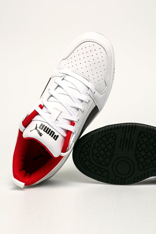 bílá Puma - Dětské boty Rebound Layup Lo SL J