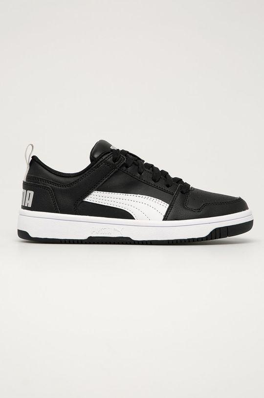 negru Puma - Pantofi copii Rebound Layup Lo SL J De băieți