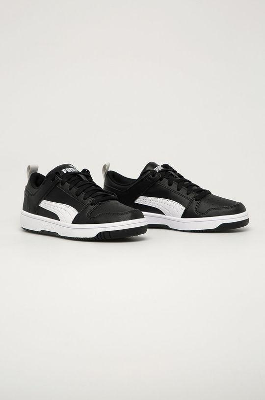 Puma - Pantofi copii Rebound Layup Lo SL J negru