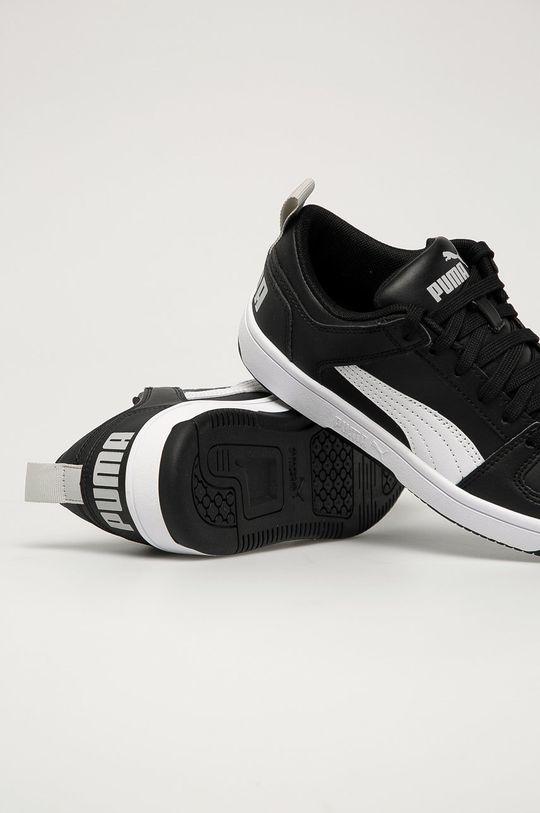 Puma - Pantofi copii Rebound Layup Lo SL J  Gamba: Material sintetic Interiorul: Material textil Talpa: Material sintetic
