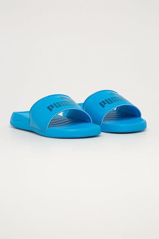 Puma - Slapi copii Popcat 20 albastru deschis