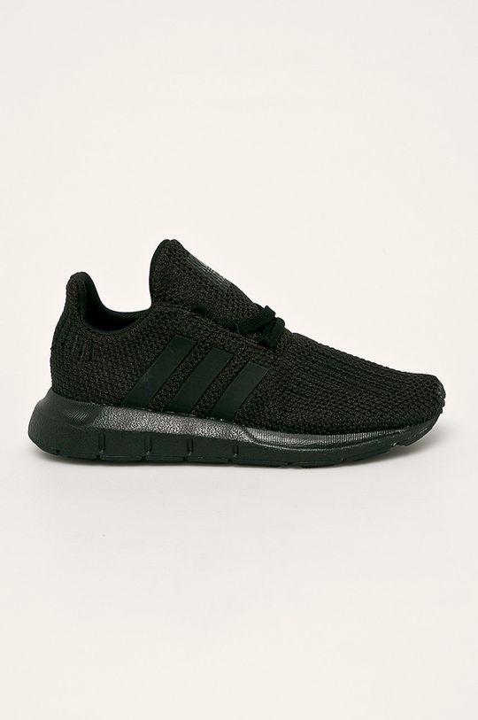 černá adidas Originals - Dětské boty Chlapecký