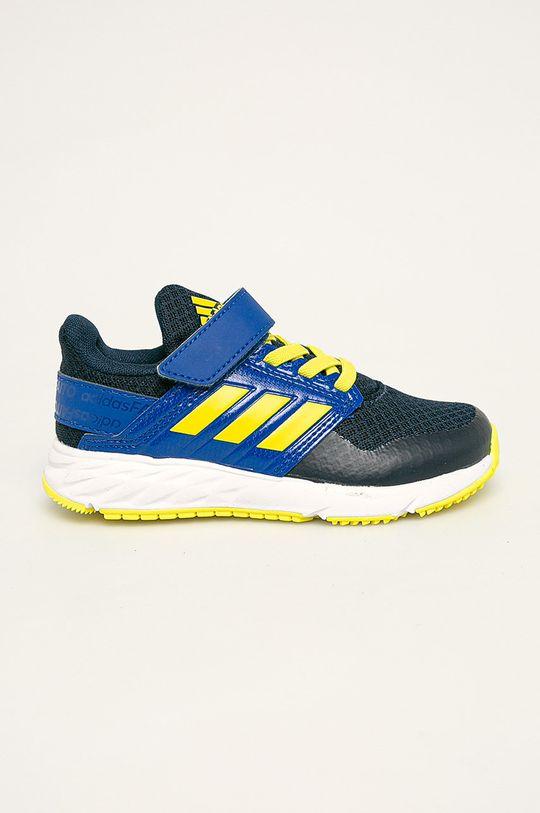 modrá adidas Performance - Detské topánky FortaFatio EL K Chlapčenský