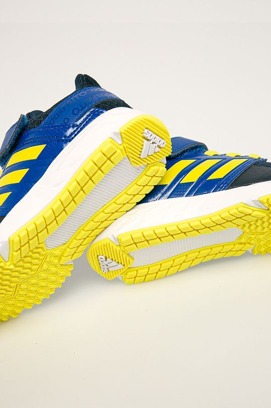 блакитний adidas Performance - Дитячі черевики  FortaFatio EL K