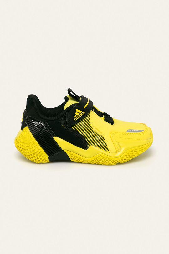 žltá adidas Performance - Detské topánky 4uture Rnr El Chlapčenský