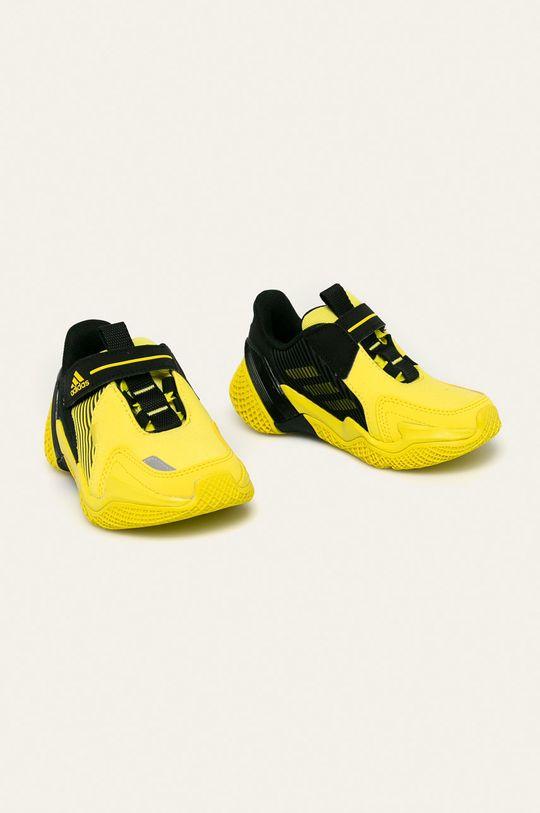adidas Performance - Detské topánky 4uture Rnr El žltá