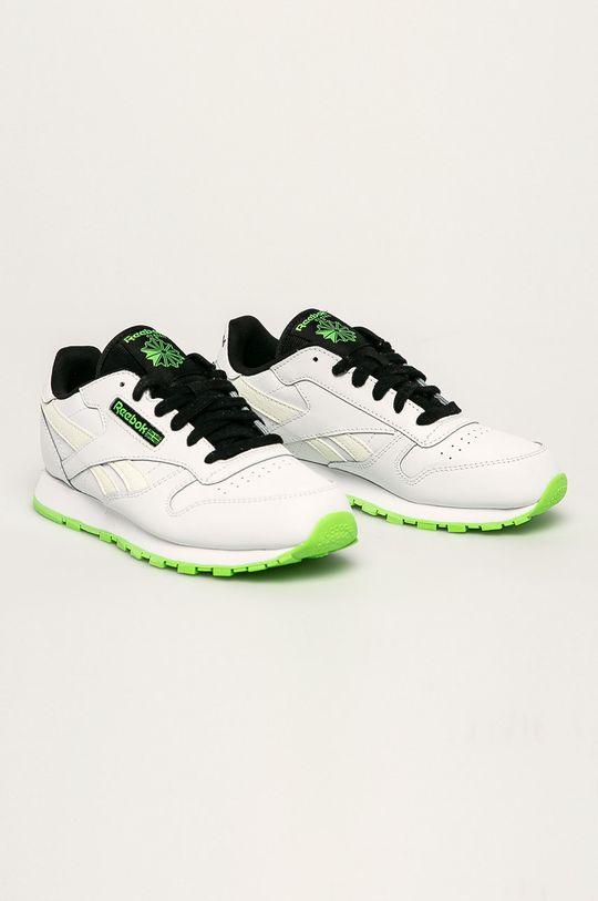 Reebok Classic - Pantofi copii Classic Leather alb