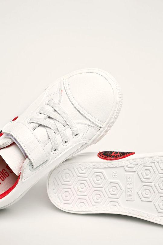 biały Big Star - Tenisówki dziecięce