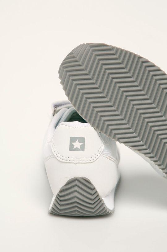 bílá Big Star - Kožené boty FF374132