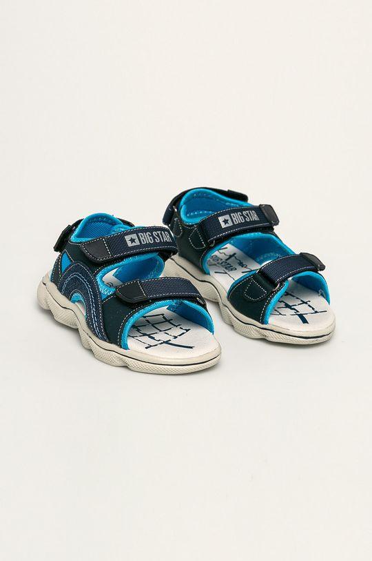 Big Star - Dětské sandály námořnická modř