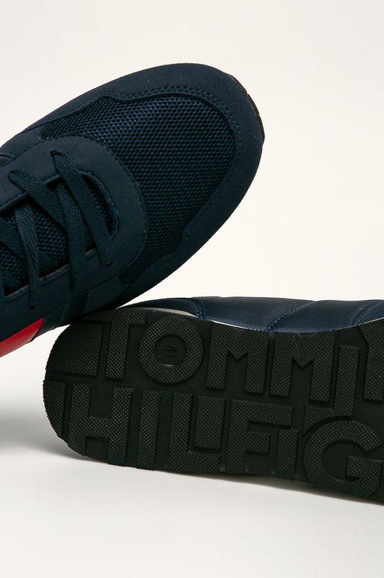 námořnická modř Tommy Hilfiger - Dětské boty