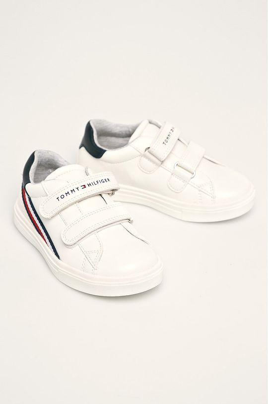 Tommy Hilfiger - Pantofi copii alb