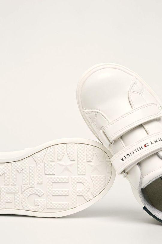 alb Tommy Hilfiger - Pantofi copii