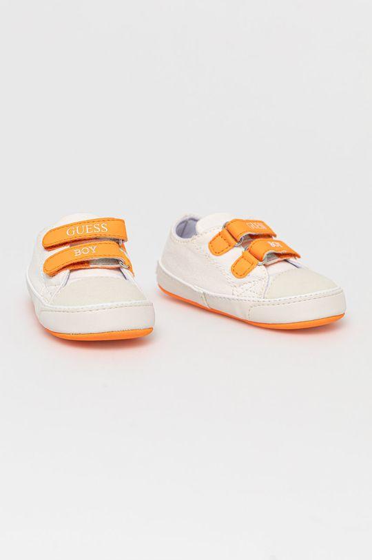 Guess Jeans - Detské topánky biela