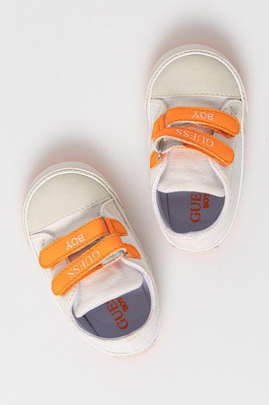 biela Guess Jeans - Detské topánky