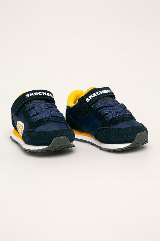 Skechers - Detské topánky tmavomodrá
