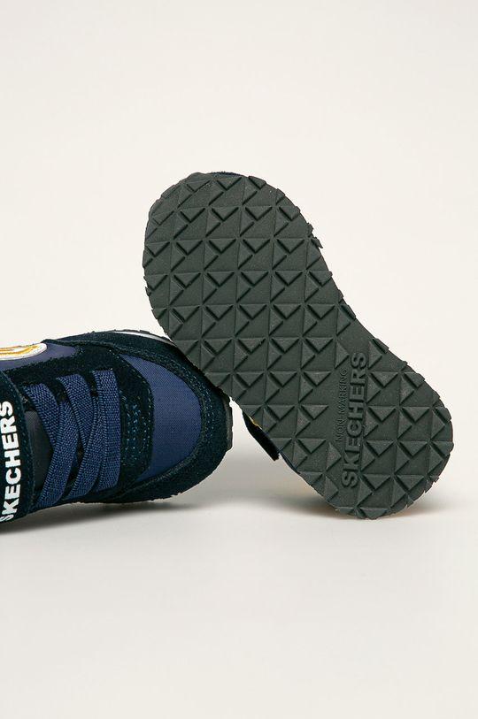 tmavomodrá Skechers - Detské topánky