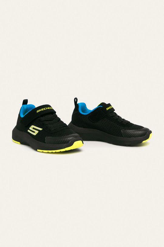 Skechers - Dětské boty černá