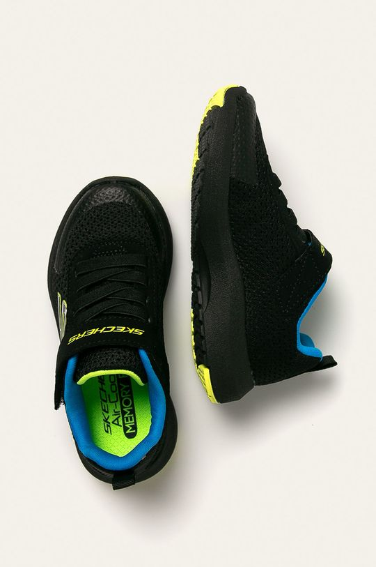 černá Skechers - Dětské boty