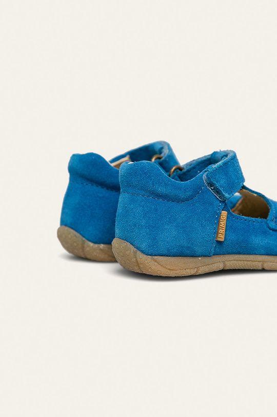 Primigi - Pantofi copii Gamba: Piele întoarsă Interiorul: Piele naturală Talpa: Material sintetic