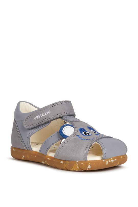 Geox - Detské sandále sivá