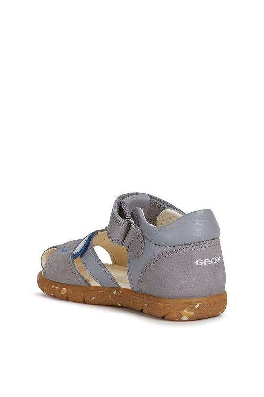 sivá Geox - Detské sandále