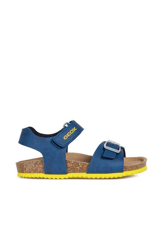 niebieski Geox - Sandały dziecięce Chłopięcy
