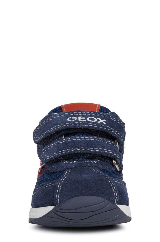 Geox - Дитячі черевики  Халяви: Текстильний матеріал, Шкіра Внутрішня частина: Текстильний матеріал Підошва: Синтетичний матеріал Устілка: Шкіра