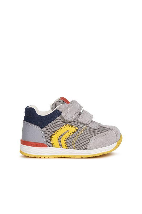 сірий Geox - Дитячі черевики Для хлопчиків