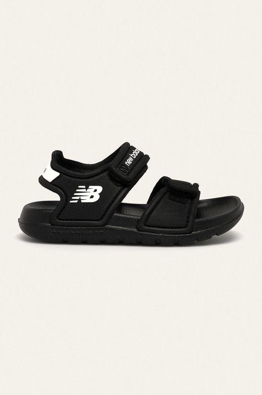 negru New Balance - Sandale copii IOSPSDBK De băieți