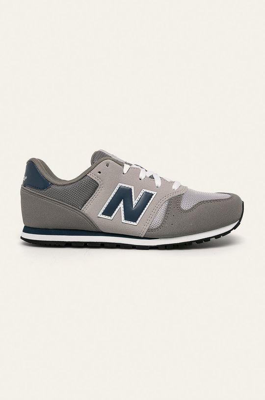 sivá New Balance - Detské topánky YC373KG Chlapčenský