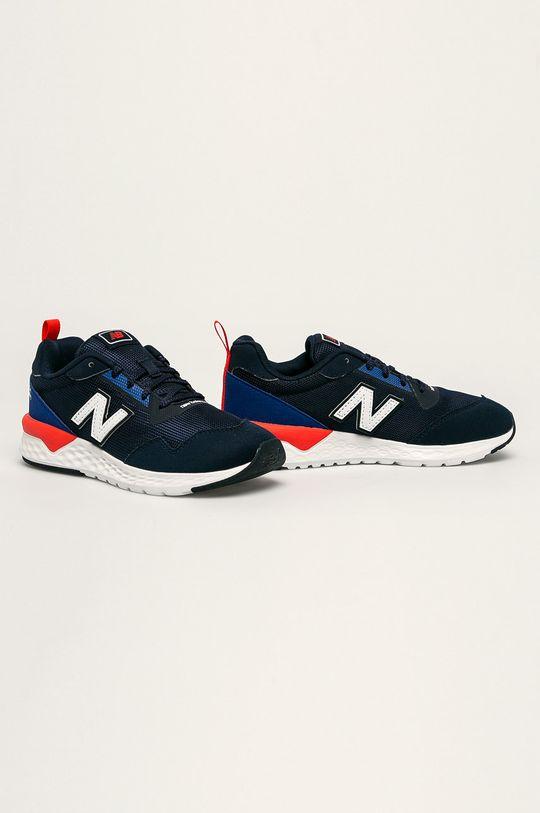 New Balance - Detské topánky YS515RD2 tmavomodrá