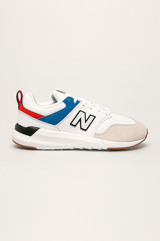 biela New Balance - Detské topánky YS009RW1 Chlapčenský