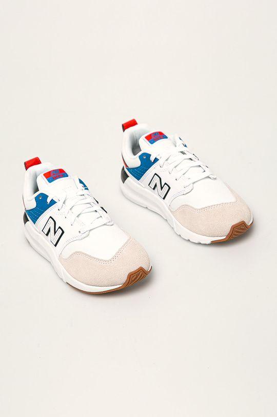 New Balance - Detské topánky YS009RW1 biela