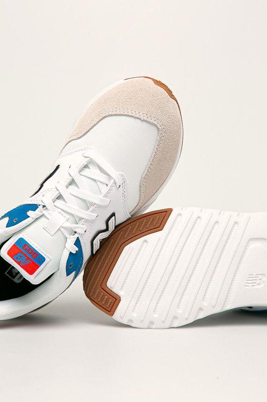 biela New Balance - Detské topánky YS009RW1