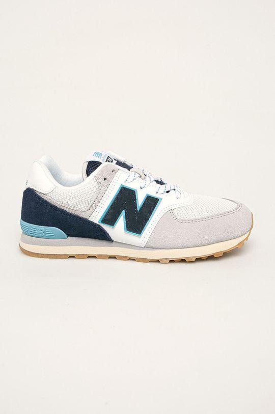 bleumarin New Balance - Pantofi copii GC574SOU De băieți