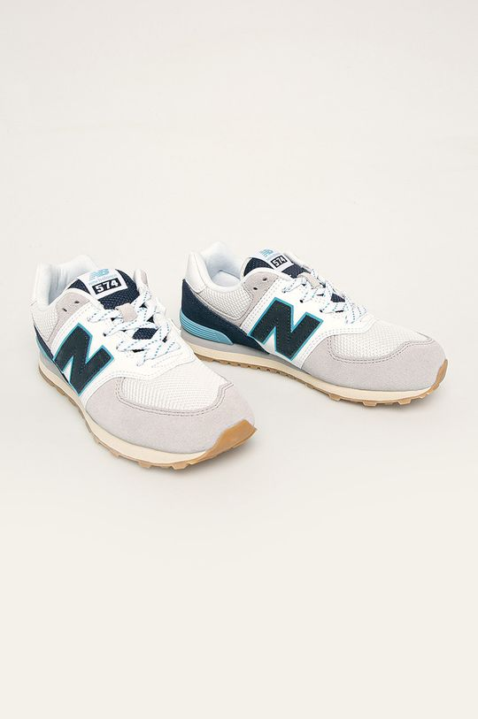 New Balance - Pantofi copii GC574SOU bleumarin