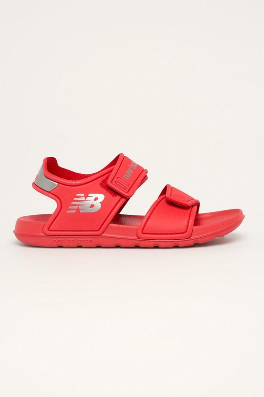 červená New Balance - Dětské sandály YOSPSDRD Chlapecký