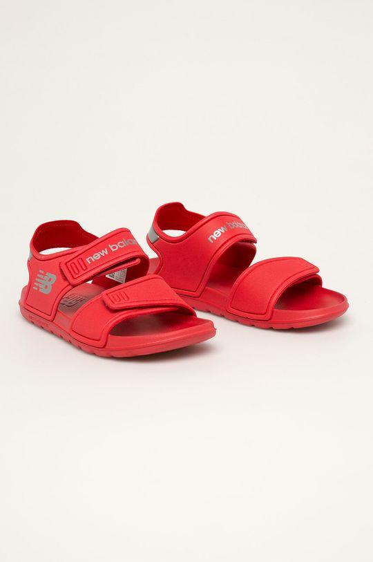 New Balance - Dětské sandály YOSPSDRD červená
