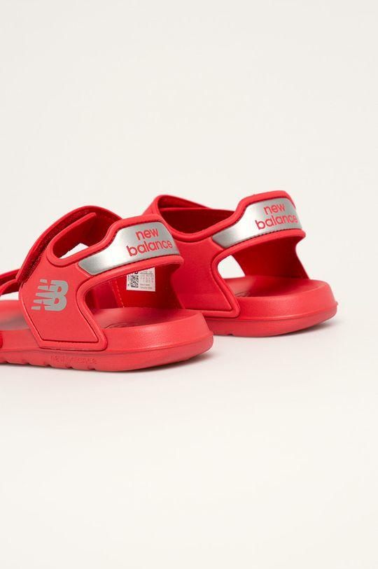 New Balance - Dětské sandály YOSPSDRD Svršek: Umělá hmota Vnitřek: Umělá hmota, Textilní materiál Podrážka: Umělá hmota