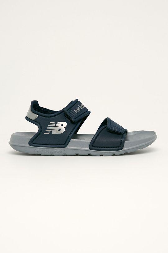 námořnická modř New Balance - Dětské sandály YOSPSDNV Chlapecký